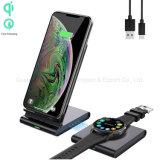 Qi-gecertificeerde 10W Dual Wireless Fast Charger, voor iPhone 12 11 Samsung Galaxy Note Watch en meer