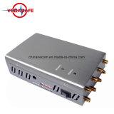 Venda a quente 8 antena Celular + bloqueador de interferência de sinal de GPS com sistema de refrigeração, dispositivo de GPS do telefone celular Jammer