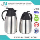 熱い販売の二重壁のステンレス鋼のコーヒー水差し(JSUC)