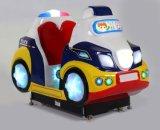 2018 de Machine van het Spel van de Auto van de Schommeling van de Populaire van de Politiewagen Binnen van de Speelplaats Video van de Rit Kiddie Van het Pretpark Kinderen van de Jonge geitjes
