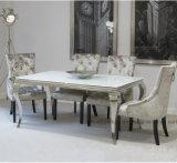 Moderne Eetkamer Franse Louis Super White Dinner Table en Stoel