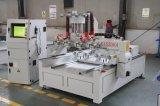多機能Atc木製の切り分けるCNCのルーター機械回転式軸線