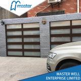 Heavy Duty motorizado comercial mayorista de aluminio puerta de garaje de vidrio
