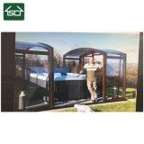 Camera di alluminio di vetro del blocco per grafici di /Aluminium di allegato del patio della villa di stile ritrattabile