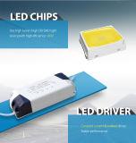 Fábrica de China Wholesale 3W 6W 9W 12W 15W 18W 24W de consumo de energía de la luz de panel LED