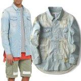 Новый дизайн - Джинсовая куртка Жан для мужчин