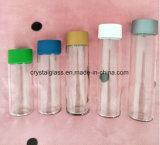 OEM/ODM Drucken-Eis-Tee-Getränkeflasche mit Farben-Schutzkappe