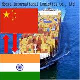 인도에 심천에서 중국 공기 또는 바다 운임 에이전트 또는 광저우 또는 상해 또는 Ningbo 또는 Xiamen 또는 Fuzhou 또는 Tianjin