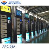 De Hoge Veiligheid die van de zelfbediening snel 19 '' LCD aanrekenen Mobiele het Laden van de Telefoon Kiosk apc-06A