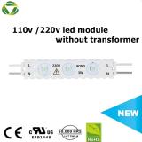 Módulo LED ópticasLED de 170 grados del módulo de Publicidad