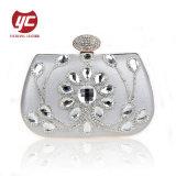 Luxury Rhinestone mala bolsa da embreagem de cristal mulheres sacos à noite