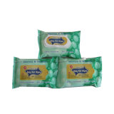 Tessuti bagnati del bambino libero di fragranza che puliscono i Wipes bagnati del bambino