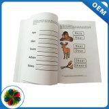 Corto plazo baratos personalizados en cuatro colores rústica la impresión de la libreta de estudiante