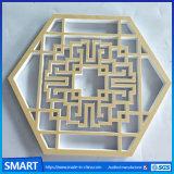 Publicidad impresión troqueladas de PVC autoadhesivo Hoja la hoja de diseño de placa de señal