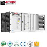 방음 750kVA 콘테이너 유형 발전기 600kw 날씨 증거 디젤 발전기