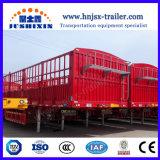 中国のトレーラー30トン3の半車軸Gooseneckの塀の貨物輸送の棒の