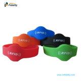 Imperméable Bracelet Bracelet en silicone à puce RFID pour la Coupe du Monde