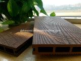 Le WPC planchers laminés avec bois plastique du grain du bois