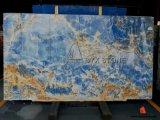 Bleu iranien Onyx pour brames ou des tuiles mur/Contexte/puits/comptoir de cuisine/salle de bain haut de la vanité