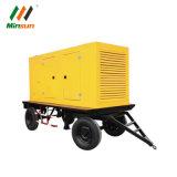 100kw 120kw mobiler leiser Schlussteil eingehangenes DieselGenerador