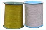 Quallity alto color oro de 0,7 mm de alambre de acero recubierto de nylon