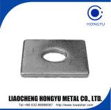 DIN436 Rondelle carrée avec placage de zinc