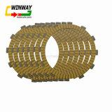WW-5330 baja resistencia al desgaste de aceite de la motocicleta embrague de fricción Placas para ZZR400 ZRX400 Kle 400/500