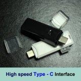 Tipo-C SD SDHC Sdxc Card Reader Microsc de alta velocidade Microsdhc Microsdxc Type C Leitor de cartão