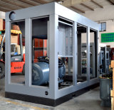 Industrieller stationärer doppelter Schrauben-Fernsteuerungsluftverdichter