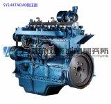 12-cilinder Dieselmotor. Diesel van Shanghai Motor Dongfeng