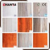 madera contrachapada de la melamina del grado de los muebles de 18m m con diverso color