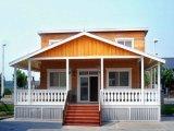 Casa prefabricada ligera móvil de la estructura de acero