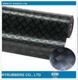 Le plus professionnel de la fabrication de tapis anti-patinage Checker feuille de caoutchouc