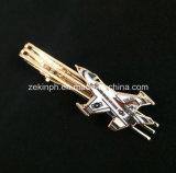 Clip de lazo de oro de encargo para el regalo promocional