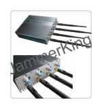 Neuestes 4 Band Mobiltelefon WiFi Signal Jammer mit Remote Control