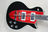 Guitarra 1960 elétrica do estilo de Corveta Black&Red Lp (GLP-121)