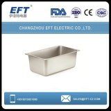 Roestvrij staal 1/3 Geperforeerde Pan Gastronorme/de Pan van GN van de Container van het Voedsel