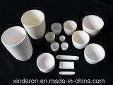 Crisol de cerámica del alúmina con alto Chemical Etching Resistencia