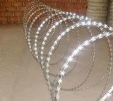 高い安全性電流を通されたかみそりの有刺鉄線
