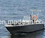 рыбацкая лодка силы 25FT 7.6m открытая верхняя алюминиевая