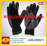 Revestido de 3/4 de nitrilo guante de trabajo (A08-HNN20)