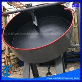 Forma de bola caliente de venta de fábrica de abonos orgánicos Pan Granulator disco