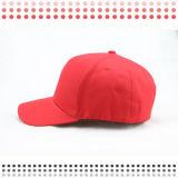 Gorra de béisbol de encargo del algodón del negro del bordado 3D