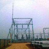 Struttura della sottostazione del trasporto di energia del tubo d'acciaio da 220 chilovolt