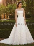 Strapless роскошь кружева устраивающих платья (AP2051)