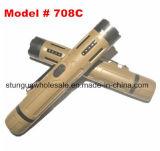 La longitud de 6 pulgadas táctica atonta el arma con la linterna brillante