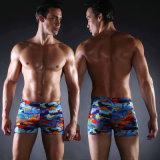 De Sexy Aqua Borrels van mensen, het Vierkante Zwempak van het Been voor het Zwemmen