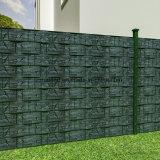 Rete fissa del giardino dello schermo della striscia del PVC di Schiefer-Optik19cm*35m