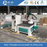 Máquina de madera del ranurador del CNC de la herramienta del cambiador del eje de rotación auto de Hsd