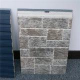 Comitato decorativo del metallo impresso struttura di pietra per il rivestimento di Insuation della parete